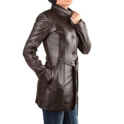 LADIES LEATHER JACKET - WNT6101